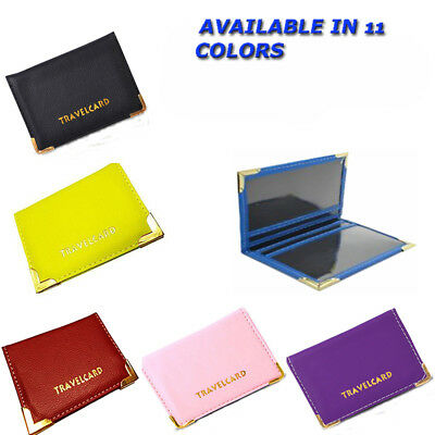 New Leather Oyster Travel Card Bus Pass Holder Wallet Rail Card Cover Case
