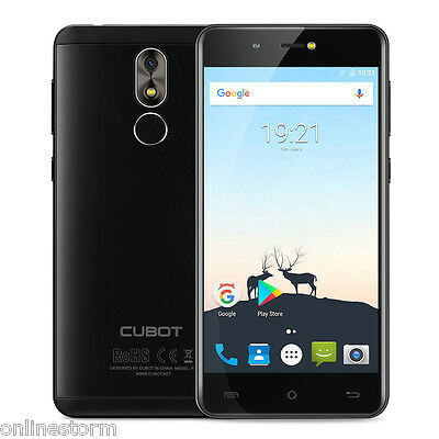 """5"""" Cubot R9 16Go+2Go Android 7.0 Smartphone 13MP 3G Dual SIM Quad Core Touch ID"""