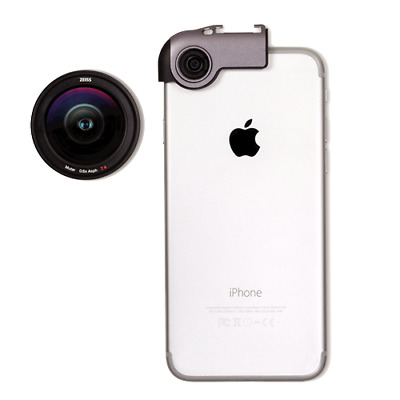 ExoLens® with Optics by ZEISS - Wide-Angle Kit for iPhone 7/7+,6/6s, 6/6s Plus
