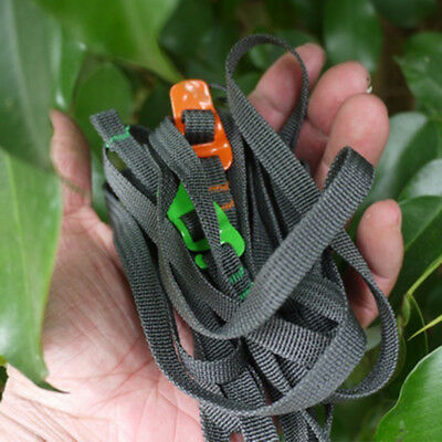 Rescue Outdoor Travel Strapping Cord Tape Stainless Hook Rope Tied Pull Luggage