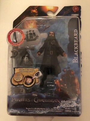 JAKKS Pacific Disney Pirates Of The Caribbean Blackbeard Action Figure