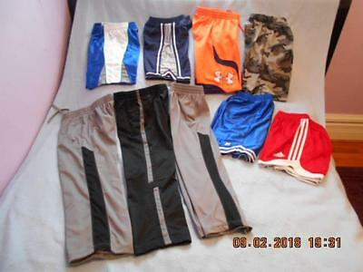 9 Pc Mixed Lot Boys Size 10-12 Pre-owned Pants & Shorts
