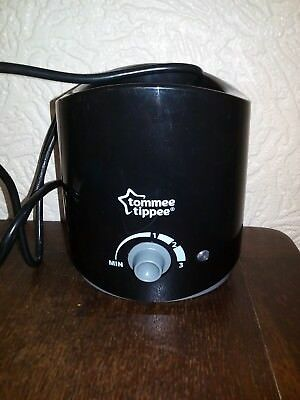 Tommee Tippee Bottle Warmer Black - Bought & Never Used Perfect Condition