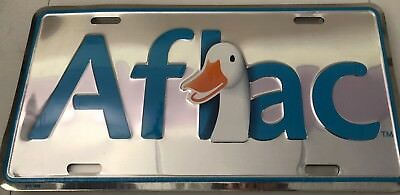 Aflac Duck License Plate