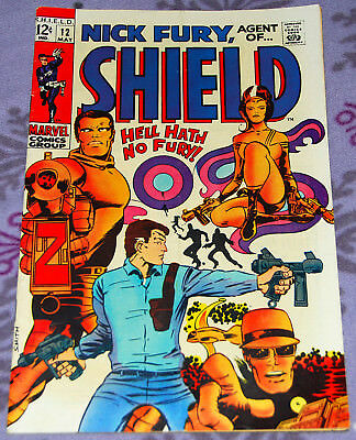 Nick Fury Agent Of Shield 12 May 1969 from Marvel Comics