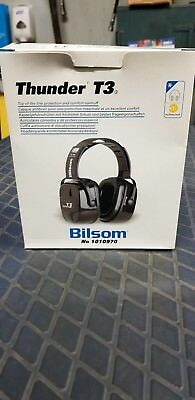 Bilsom Thunder T3 Ear Protection Muffs NRR 30 #1010970 - EUC in Box