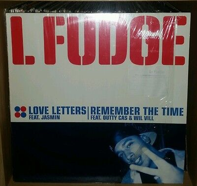 """L Fudge Love Letters/remember The Time 12"""" 2000"""