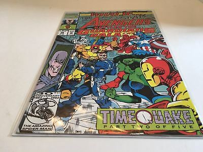 Marvel Comics What If Issue #36 Cosmic Avengers Battled Guardians Of The Galaxy
