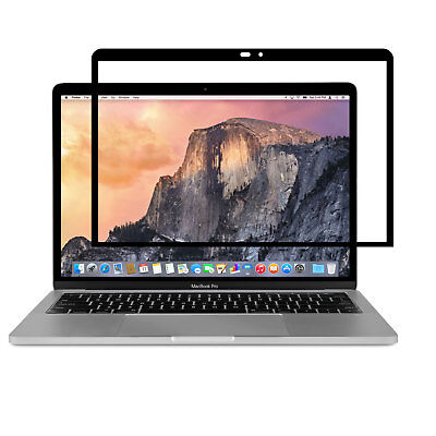 """Moshi iVisor Pro 13 Screen Protector for Macbook Pro 13"""" without Touch Bar Black"""