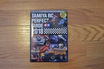 NEW TAMIYA RC Car Perfect Guide Book 2018 / Japan Radio controlled model Toy USA