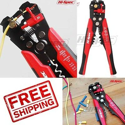 Wire And Cable Stripper Cutter Tool Ultimate Hand Tools Self Adjusting Stripping