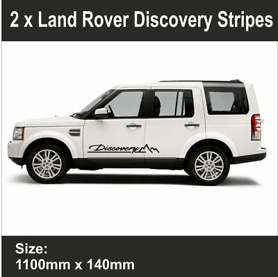 Land Rover Discovery | Side Stripe | Badge | Vinyl | sticker Decal Graphic|BB187