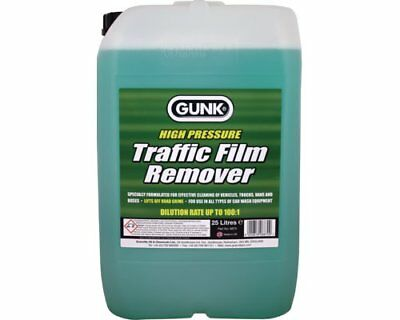 GUNK TFR 25L TRAFFIC FILM REMOVER 25 LITRE 100:1 Concentrate 6870 Green Next Day