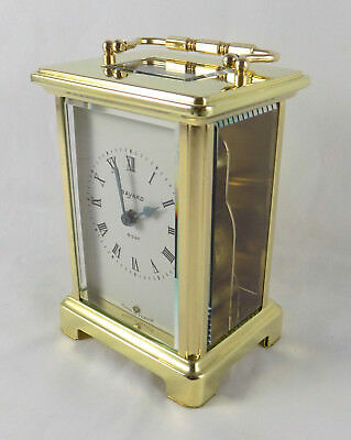 Excellent Bayard Carriage Clock With Top Platform Balance - Cleaned & Serviced