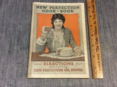 NEW PERFECTION OIL STOVES 1910's New Perfection Cook Book