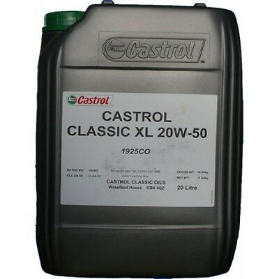 20 Litres Huile Castrol Classic 20w50