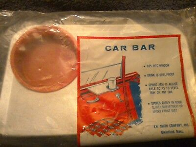 Vintage Drive-in Car Hop Window Tray Car Bar NIB