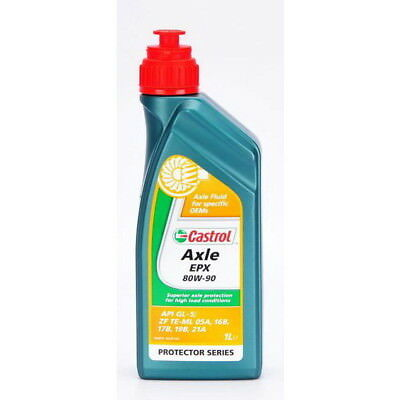 1 Litre Huile Castrol axle EPX 80W90