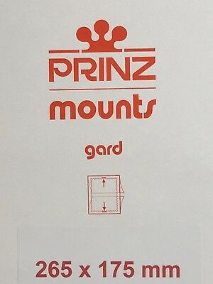 Prinz Stamp Mounts 265/175  - *** We Are A Veteran Supportive Business ***