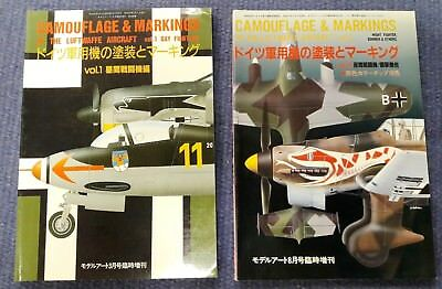 Luftwaffe Camouflage & Markings Vol. 1 + 2 Day Fighters/ Night Fighters/ Bombers