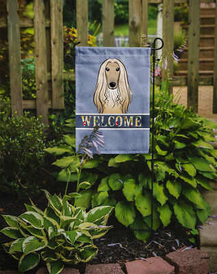 Carolines Treasures  BB1430GF Afghan Hound Welcome Flag Garden Size