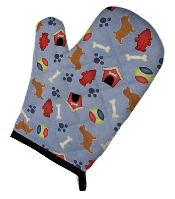 Carolines Treasures  BB3909OVMT Norfolk Terrier Dog House Collection Oven Mitt