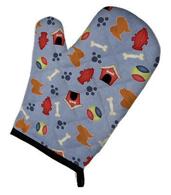 Carolines Treasures  BB3951OVMT Chow  Dog House Collection Oven Mitt