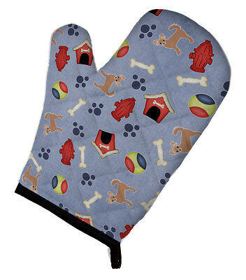 Dog House Collection Longhair Tan Chihuahua Oven Mitt