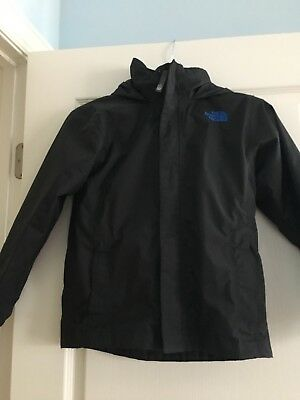 North Face Boys Jacket With Fleece Attached Size 7/8