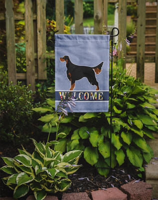 Carolines Treasures  BB8274GF Gordon Setter Welcome Flag Garden Size