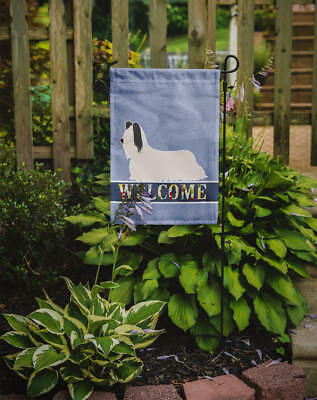 Carolines Treasures  BB8278GF Skye Terrier Welcome Flag Garden Size