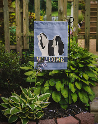Carolines Treasures  BB8314GF Havanese Welcome Flag Garden Size