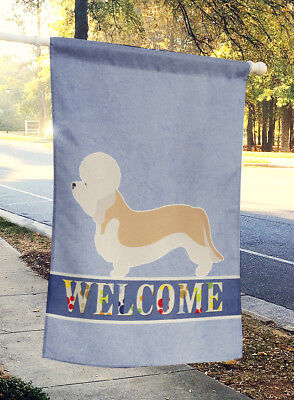 Dandie Dinmont Terrier Welcome Flag Canvas House Size