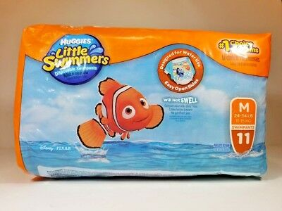 Huggies Little Swimmers Disposable Diaper Swimpants Medium 11 Count Finding Dory