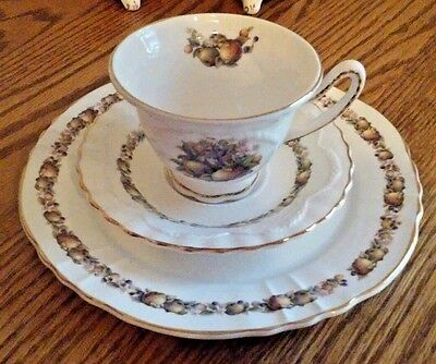 Tea Place Setting Staffordshire Crown Dorset China England (2 available)