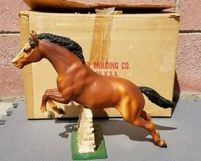 """Model# Jumping Horse """"Stonewall""""(1965-1988)Vintage Collectible Breyer Horse"""