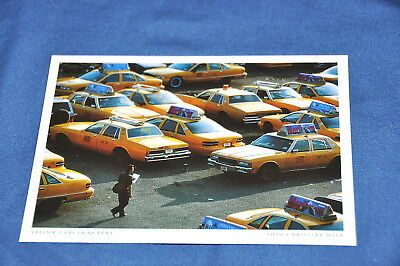AK Postkarte NEW YORK Yellow Cabs in Queens (30)