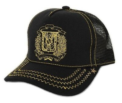 857a2c39f289f GOLD STAR DOMINICAN Republic Black Red Leather Snapback (DR. FLAG ...