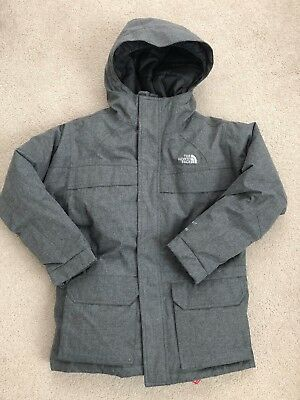Nwt $199 The North Face Youth Boys Mcmurdo Down Parka Jacket Gray In M 10/12