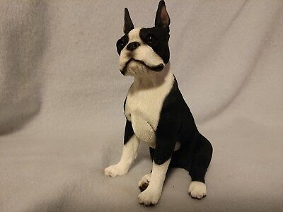 Boston Terrier Medium Figurine
