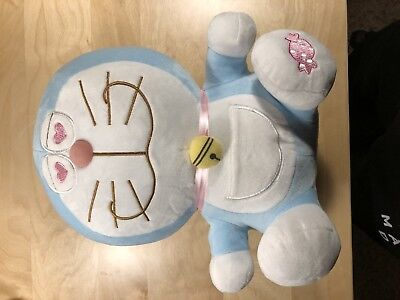 12 inch Doraemon with SMILE soft Plush stuffed Doll toy collectible gift