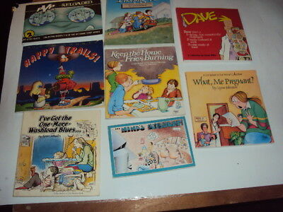comic strip book lot bloom county minds eye dave pvp better or worse lot of 8