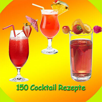 Ebook 150 Cocktail Rezepte