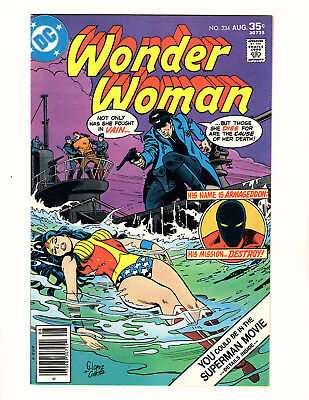 Wonder Woman #234 (1977, DC) NM- Vol 1 1st App Armageddon