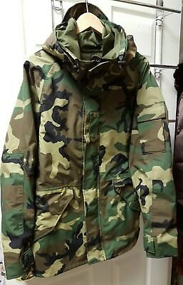 Military Woodland COLD WEATHER PARKA Camouflage Tennier Medium Regular NWOT