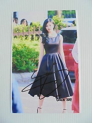 Twice Tzuyu 4x6 Photo Korean autograph signed USA Seller 3 KPOP