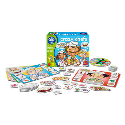 NEW Orchard Toys Crazy Chefs Game