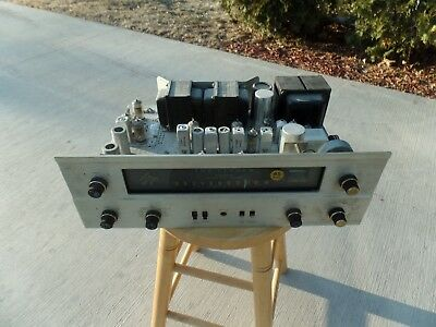 "Fisher 400 Tube Receiver Mpx-65 / See All Pictures & Read / Buy-It-Now / ""as-Is"""