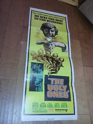 The Ugly Ones (1966) Original Movie Film Poster Insert Tomas Milian