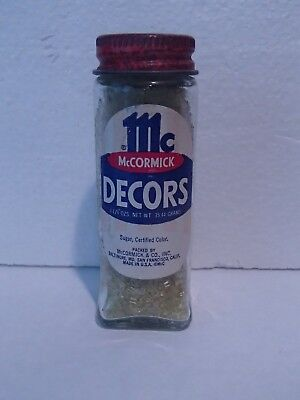 Vintage McCormick DECORS Cake Decorations Old Store Stock